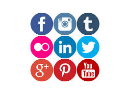 Social Media Icons, The Writng Life
