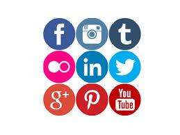 Social Media Icons, The Writng Life