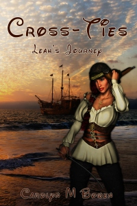 Cross-Ties Adventure, Carolyn M. Bowen Author, Summer Fun In August, The Writing Life