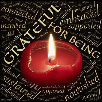 Grateful, gratitude, writing life